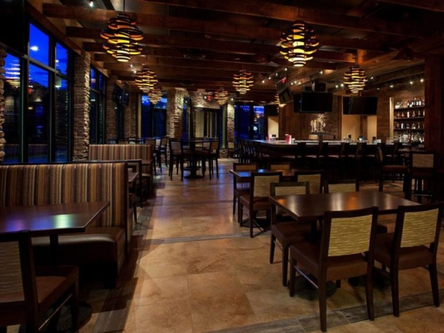 Inside of the Parlay Lounge