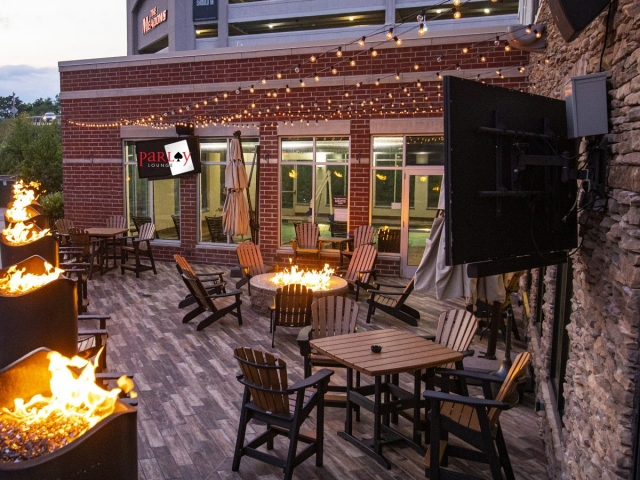 Outside of the Parlay Lounge